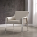 Dalton Contemporary Taupe Armchair by Whiteline