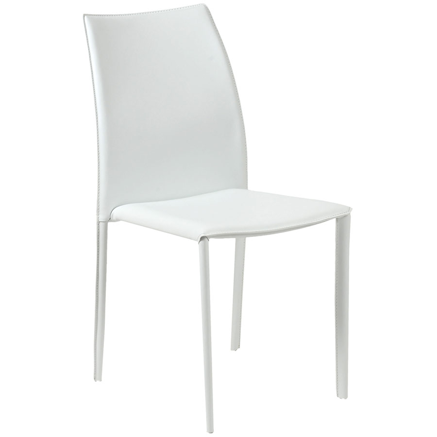 Dayton White Dining Chair