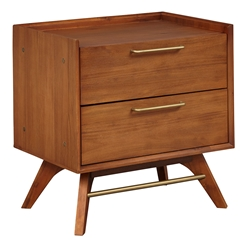 Unique Furniture Denali Modern 2-Drawer Nightstand