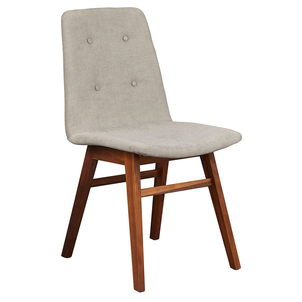 Denali Modern Walnut Dining Chair by Unique Furniture