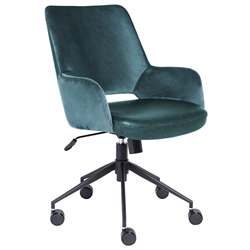 Desara Modern Blue Office Chair