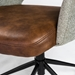 Desara Modern Light Brown Tilting Office Chair - Seat Detail