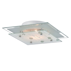 Dima Flush Mount Contemporary Ceiling Light