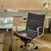 Dirk Modern Brown Low Back Office Chair