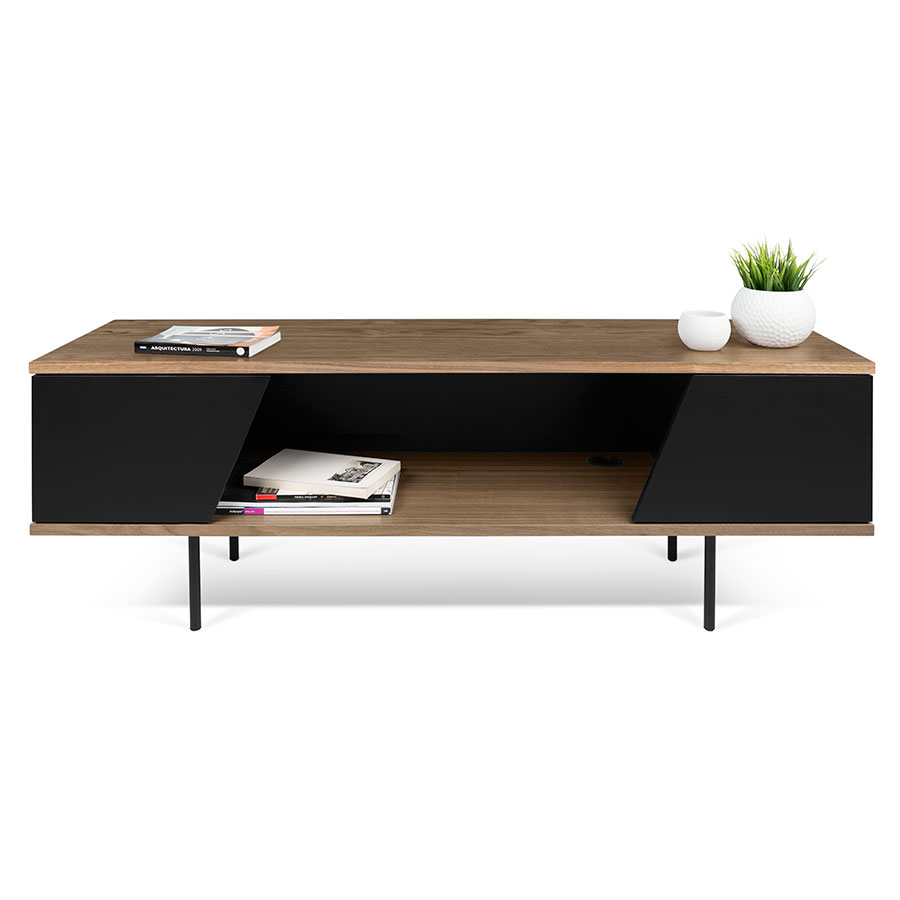 Dixie modern tv stand by temahome eurway furniture for Meuble console tv