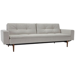 Gus Modern Flipside Sofabed Parliament Stone Eurway