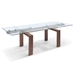 Dugan Contemporary Dining Table Extended