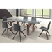 Dugan Contemporary Dining Table Room