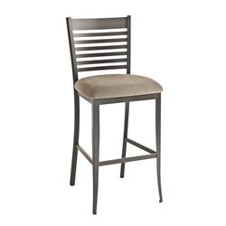 Edwin Counter Stool in Metallo by Amisco
