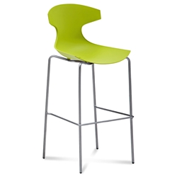 Eko Green Modern Bar Stool