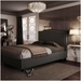 Elegance Upholstered Bed by Amisco