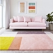 Gus Modern Element 8x10 Rose Wool Rug