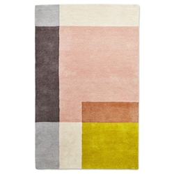 Gus Modern Element 5x8 Rose Rug
