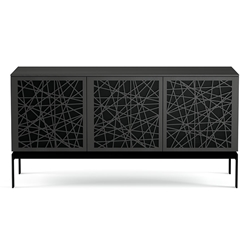 BDI Elements Modern AV Stand Ricochet Charcoal