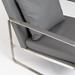 Edgar Gray Contemporary Lounge Chair Detail