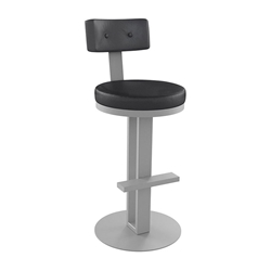 Empire Counter Stool in Dayglam and Ink by Amisco