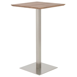 Elodie-B Modern Walnut Bar Table