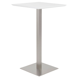 Elodie-B Modern White Bar Table