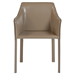 Eysen Taupe Contemporary Arm Chair