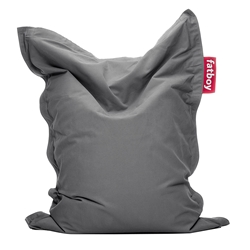 Fatboy Junior Stonewashed Gray Contemporary Bean Bag Chair