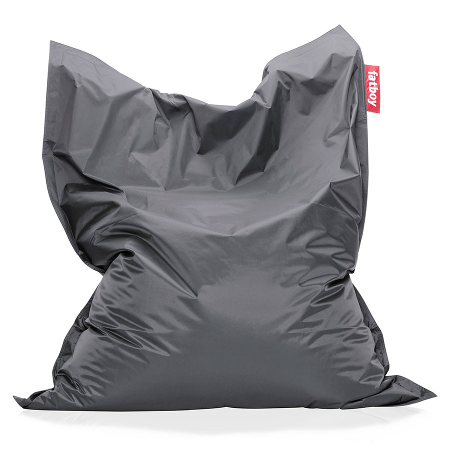 Fatboy Dark Gray Original Modern Bean Bag Chair