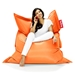 Fatboy Orange Original Modern Bean Bag Chair