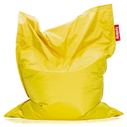Fatboy Yellow Original Modern Bean Bag Chair