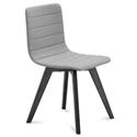 Feodor Anthracite + Gray Modern Dining Chair
