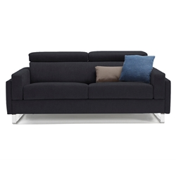 Firenze Modern Sleeper Sofa in Dark Grey by Pezzan