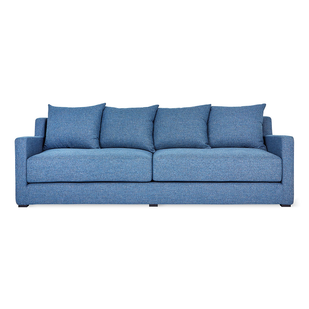 Gus Modern Flipside Sofabed In Chelsea Pacific Fabric Upholstery
