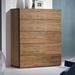 Float Walnut Contemporary Chest Room