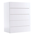Float White Contemporary Chest by TemaHome