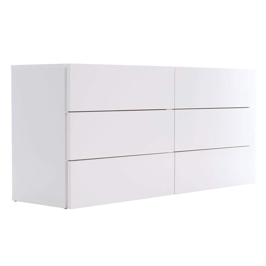 Float White Contemporary Dresser by TemaHome