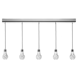 Florian Contemporary Linear Hanging Lamp by Nuevo