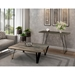 Saloom Flynn Contemporary Console Table in Nantucket Finish