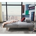 Frode Modern Sleeper Sofa by Innovation Living in Granite Fabric