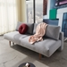 Innovation Frode Modern Sleeper Sofa in Granite Fabric