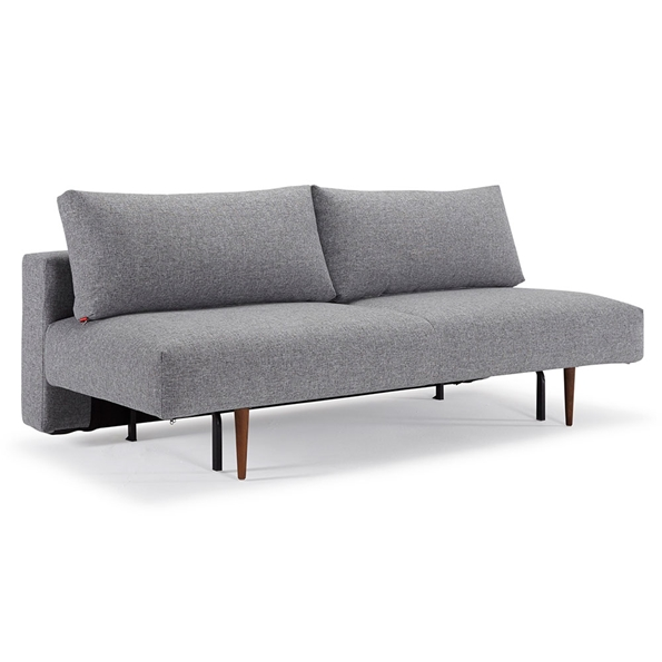 Frode Sleeper Sofa in Twist Granite Fabric by Innovation