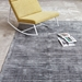 Gus* Modern 5x8 Fumo Rug in Carbon Gray Viscose