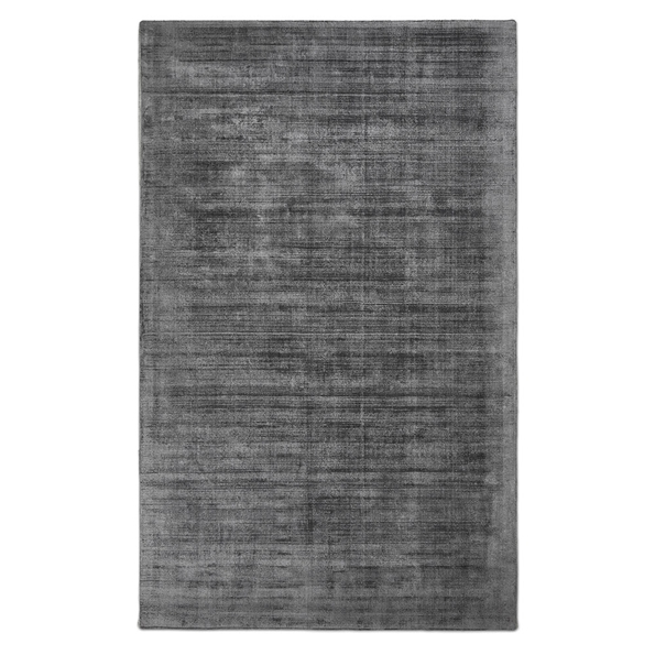 Gus* Modern 8x10 Fumo Rug in Carbon Gray Viscose