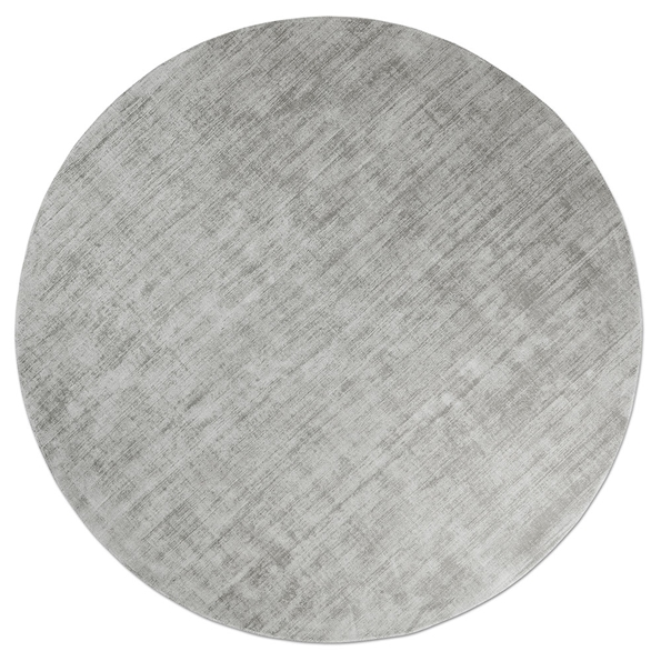 Gus* Modern 8x10 Fumo Rug in Feather Gray Viscose