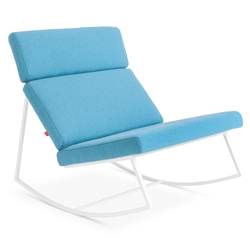 GT Rocker Contemporary Lounge Chair in Muskoka Surf by Gus* Modern