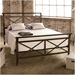 Gabriel Metal Bed by Amsico