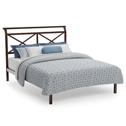 Gabriel Contemporary Platform Bed by Amsico