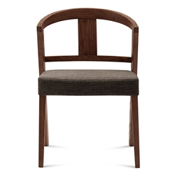 Gemini Brown Modern Dining Chair
