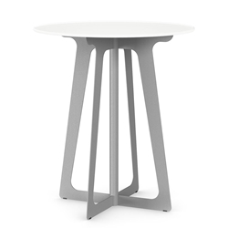 Genesis Modern Round Counter Table in Dayglam by Amisco