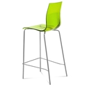 Geoffrey Green Modern Bar Stool by Domitalia