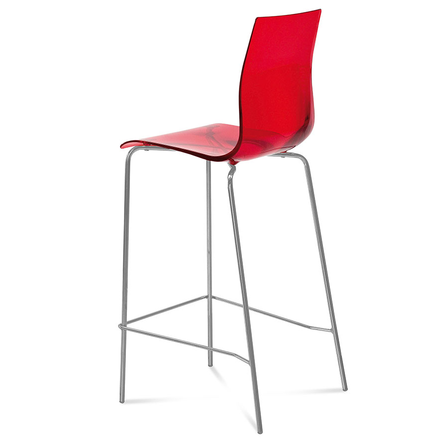 Geoffrey Red Modern Bar Stool  sc 1 st  Collectic Home : red modern bar stools - islam-shia.org