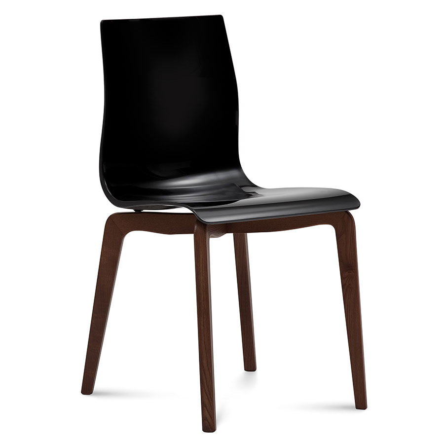 Geoffrey Black Modern Side Chair