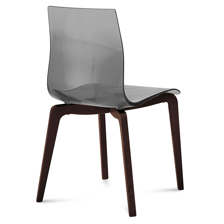 Modern Dining Chairs Geoffrey Smoked Chair Eurway
